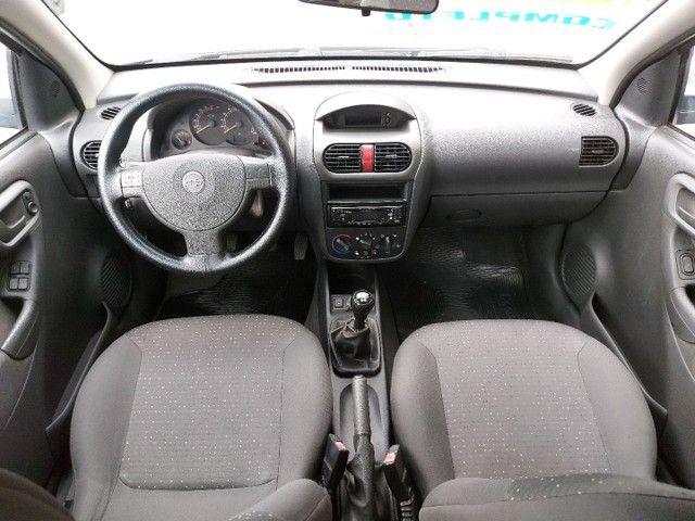 Corsa Sedan Premium 1.8 Flex 2008 COMPLETO + AIRBAG - Foto 9