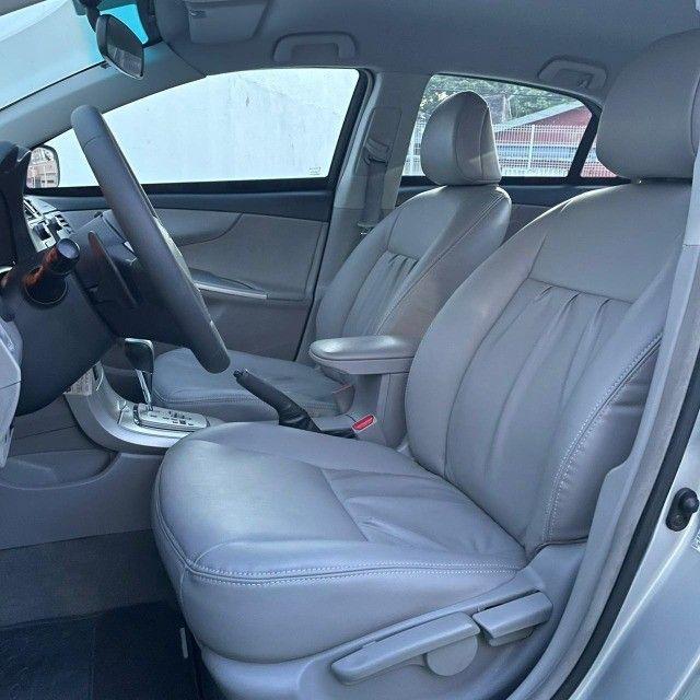 Corolla Xei 2.0 Aut. 2013 Prata Blindado - Foto 9