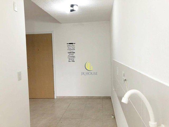Apartamento com 2 dormitórios para alugar, 56 m² por R$ 800,00/mês - Santa Fé - Gravataí/R - Foto 4