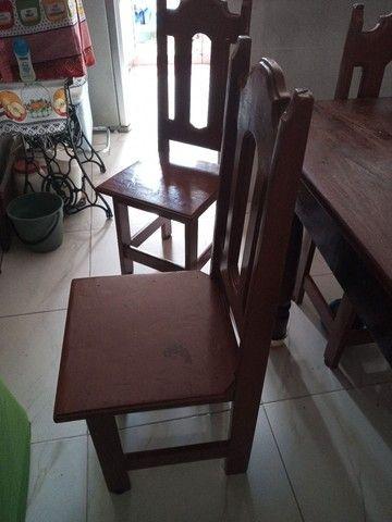 Vendo 4 cadeiras de angelin cada uma 100 - Foto 2