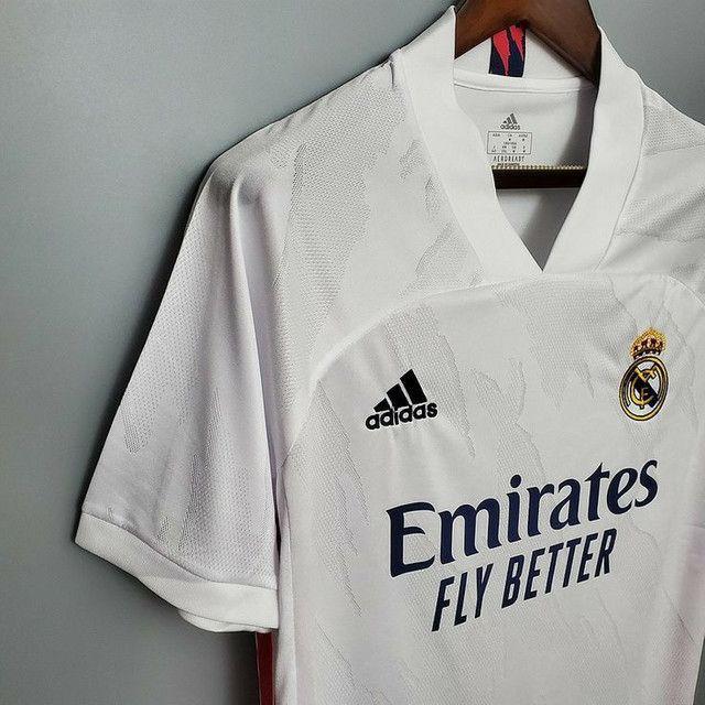 Camisa do Real Madrid 2020/21 - Foto 3
