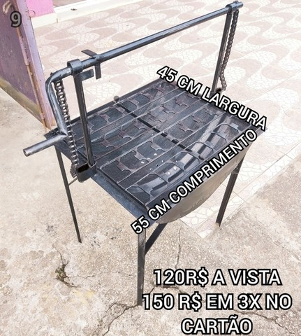 promoção churrasqueira tambo brinde 2 saco Carvão  entrega gratis @!# - Foto 3