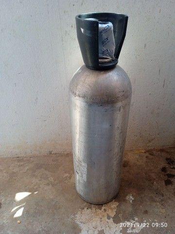 Cilindro co2 de alumínio
