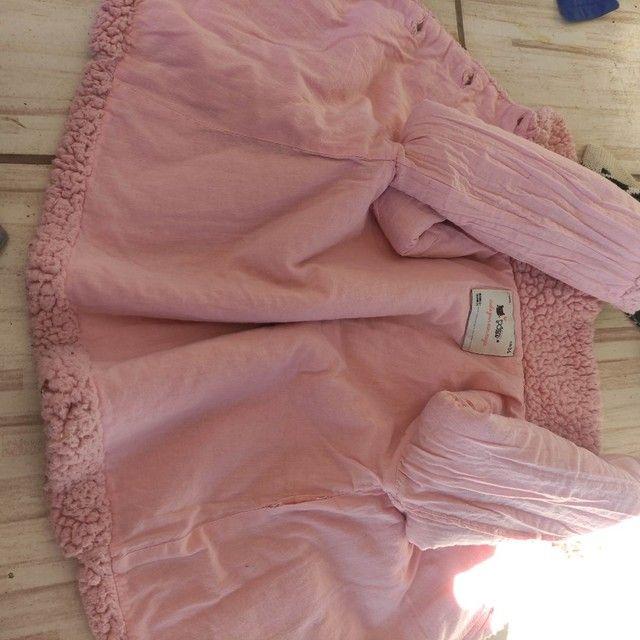 Casaco de pelúcia menina 1 ano - Foto 6