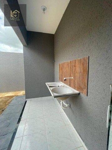 Casa com 2 dormitórios à venda, 80 m² por R$ 175.000,00 - Divineia - Aquiraz/CE - Foto 14