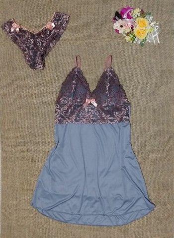 Camisola + calcinha - Foto 3