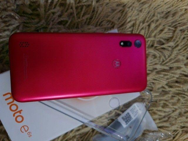 Smartphone Moto E6s 32gb Dual Chip Tela 6.1 Polegadas Pink