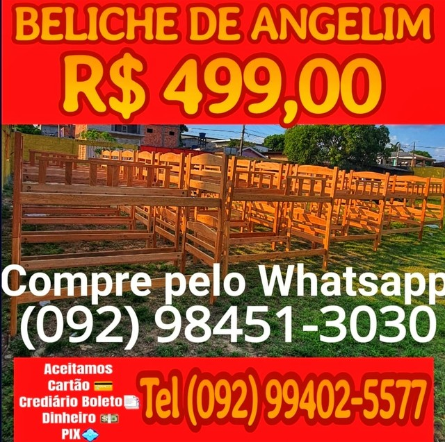 Super Barato Beliche Angelim melhores condições de Pagamento
