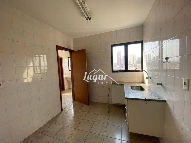 Apartamento com 3 dormitórios para alugar, 100 m² por R$ 1.300,00/mês - Boa Vista - Maríli - Foto 3