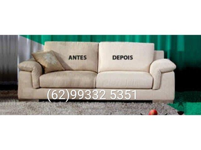 Higienização de sofás e colchões