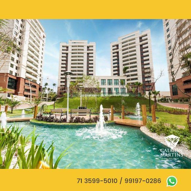 Apartamentos em 115m² com 3 suítes, 2 vagas, vista mar - Patamares  - Foto 5