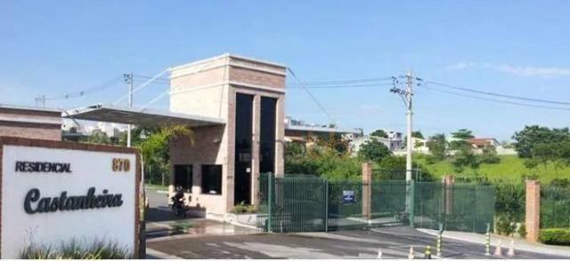 Terreno residencial à venda, Condomínio Residencial Castanheira, Sorocaba - TE0100.