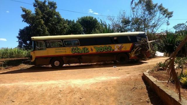 Ônibus Monobloco, mecânica ok e pneus novos - Troco por Van ou Carro do meu interesse - Foto 9