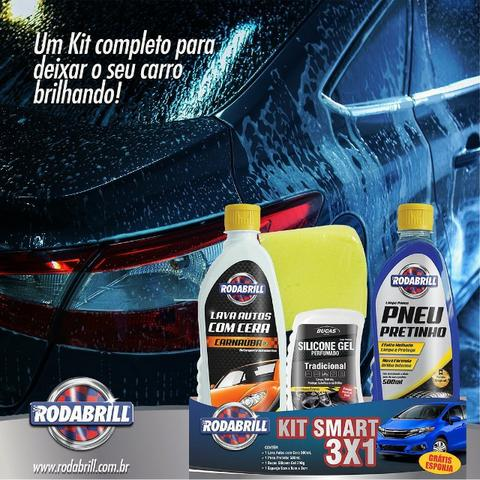 Kit Limpeza Automotiva Rodabril - Foto 5