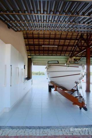 Casa na Lagoa do Uruaú com 6 suítes à venda, por R$ 5.800.000 Porteira fechada- Beberibe - Foto 14