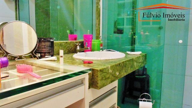 Linda casa, fino acabamento, porcelanato, laje, 04 quartos Colônia Agrícola Samambaia - Foto 14