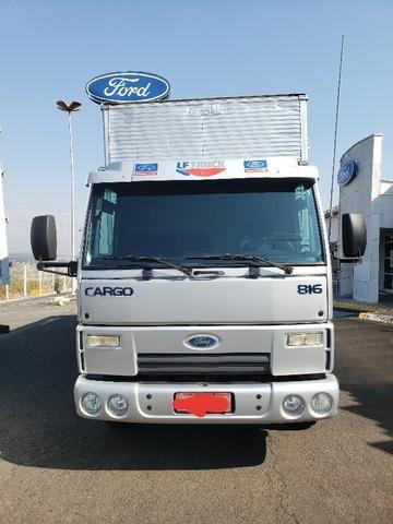 Ford cargo 816 ano 2013 com 198.000km
