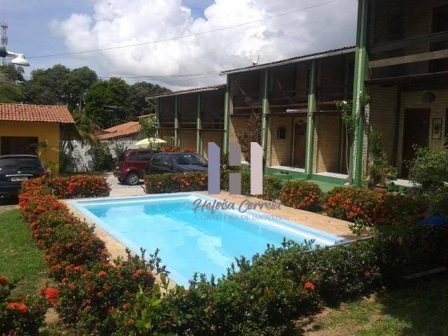 Casa com 1 dormitório para alugar, 65 m² por r$ 999,00/mês - ponta negra - natal/rn