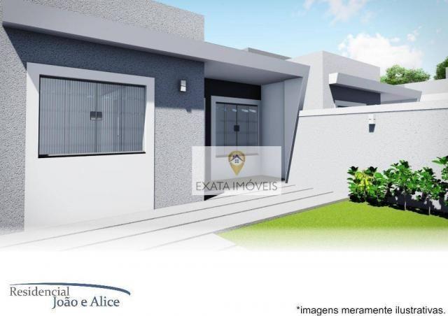 Lançamento! casas lineares independentes a 150m da rodovia, jardim mariléa, rio das ostras - Foto 8
