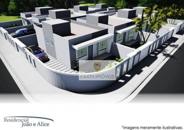 Lançamento! casas lineares independentes a 150m da rodovia, jardim mariléa, rio das ostras