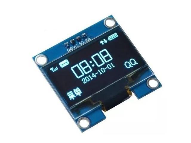 COD-AM48 Display Oled 128x64 Gráfico 0.96 I2c Serial Azul Arduino Esp Pic Robotica
