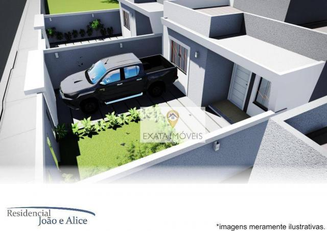 Lançamento! casas lineares independentes a 150m da rodovia, jardim mariléa, rio das ostras - Foto 7