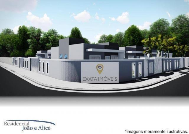 Lançamento! casas lineares independentes a 150m da rodovia, jardim mariléa, rio das ostras - Foto 3