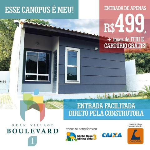 APL - Oportunidade no Turu | Casa em Condomínio | Entrada 499,00 | 2 quartos | 2 Vagas