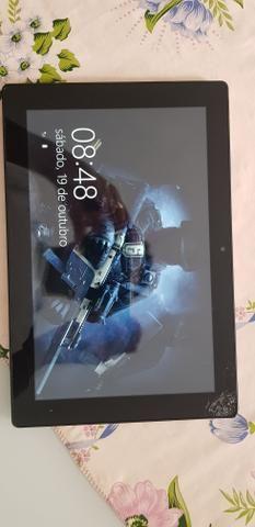 Notebook / Tablet 2 Em 1 Positivo Duo Zx3020, Tela Trincada