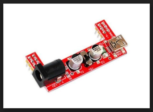 COD-AM236Módulo Fonte Alimentação Protoboard Mb-102 3,3v 5v Arduino Automação Robotica - Foto 3