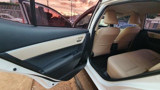Corolla alts top d linha ano 14/15 automático Flex - Foto 5