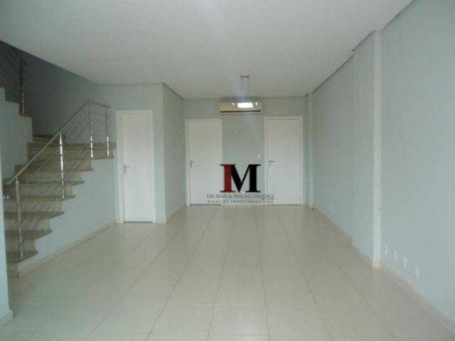 alugamos e vendemos apartamento estilo duplex com churrasqueira na sacada e 4 suites - Foto 8