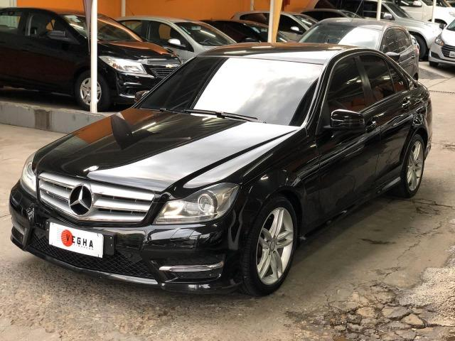 Mercedes Benz C-180 Sport CGi Vision 2014 Preta, impecável, financiamos! - Foto 3
