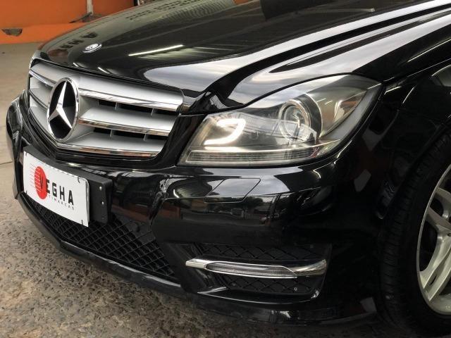 Mercedes Benz C-180 Sport CGi Vision 2014 Preta, impecável, financiamos! - Foto 4