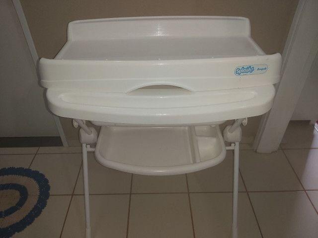 Banheira de bebê com suporte  - Foto 3