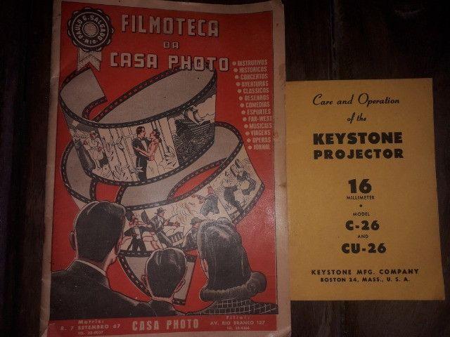 Projetor keystone na caixa com manual e acessórios de fábrica - Foto 6