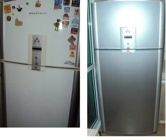 Envelopamento de geladeiras - Foto 6