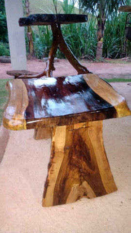Mesa rústico - Foto 2
