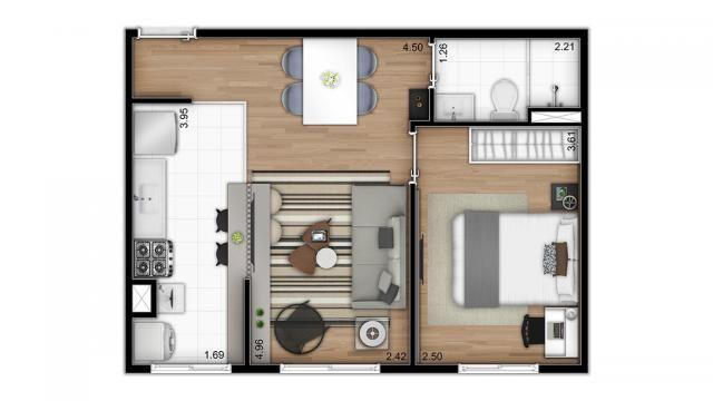 Apartamento residencial para venda, Cambuci, São Paulo - AP7472. - Foto 13