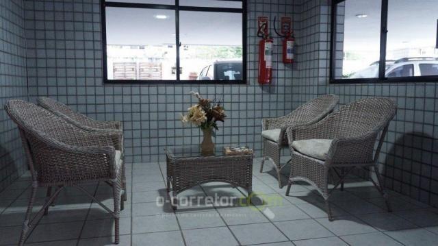 Apartamento com 3 dormitórios à venda, 90 m² por R$ 299.000 - Jardim Oceania - João Pessoa - Foto 8