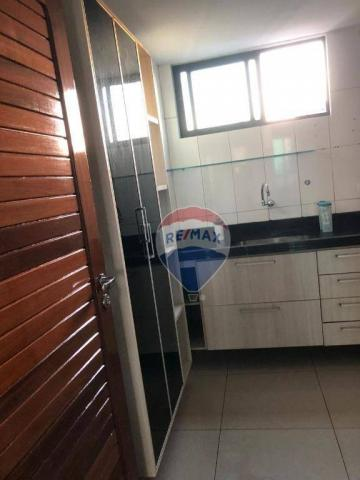 Apartamento com 3 dormitórios para alugar, 122 m² por R$ 2.400,00/mês - Manaíra - João Pes - Foto 14