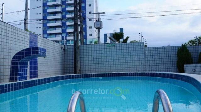 Apartamento com 3 dormitórios à venda, 90 m² por R$ 299.000 - Jardim Oceania - João Pessoa - Foto 3