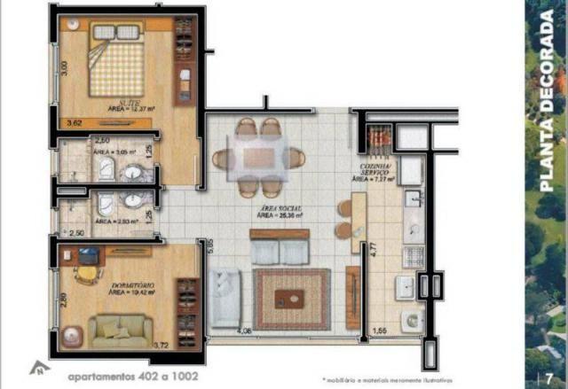 Apartamento à venda com 2 dormitórios em Jardim botânico, Porto alegre cod:AP010222 - Foto 6