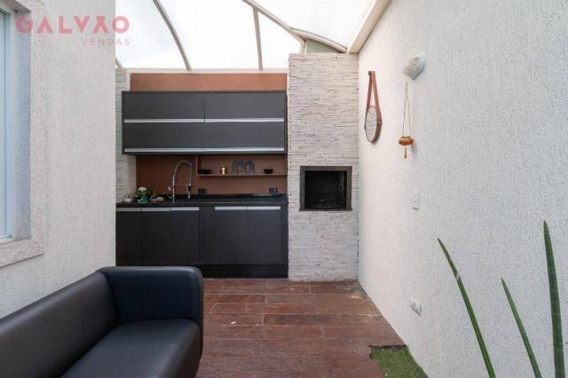 Sobrado com 3 dormitórios à venda, 104 m² por R$ 398.500,00 - Hauer - Curitiba/PR - Foto 11