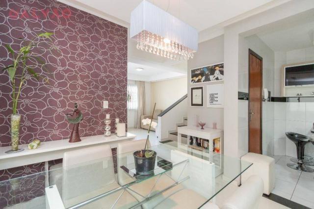 Sobrado com 3 dormitórios à venda, 104 m² por R$ 398.500,00 - Hauer - Curitiba/PR