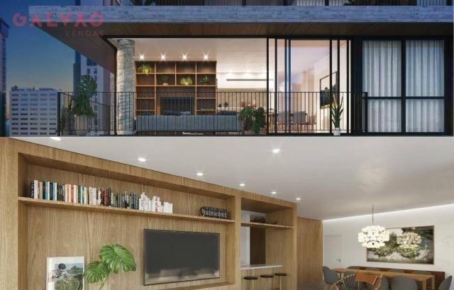Apartamento com 2 dormitórios à venda, 85 m² por R$ 834.000,00 - Bigorrilho - Curitiba/PR - Foto 9