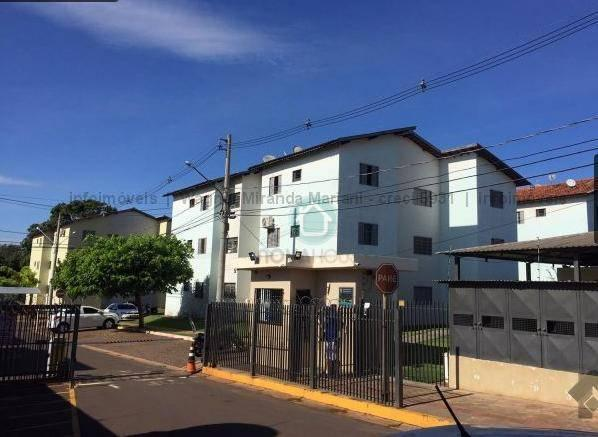 Apartamento com 2 dormitórios à venda, 47 m² por R$ 145.000,00 - Coophasul - Campo Grande/