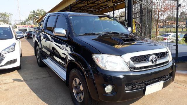 Toyota Hilux CD SRV 3.0 Preto - Foto 2