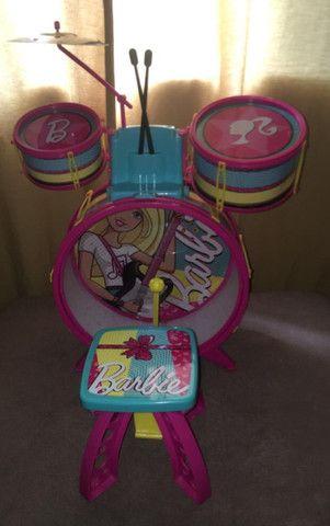 Bateria Infantil Fabulosa - Barbie