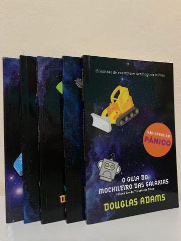 Coleção Livros O guia do mochileiro das galáxias
